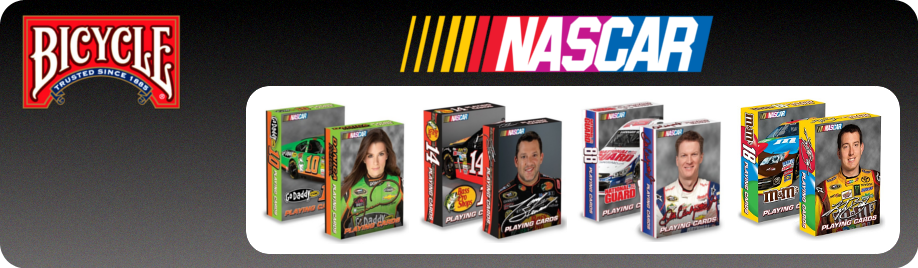 Nascar Bicycle Cards For Sale