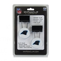 NFL Carolina Panthers MyFanClip Multipurpose Clips (Pack of 2)Paper Office