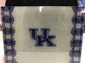 University of Kentucky (UK) NCAA Glass Cutting Board by Cumberland Designs, Artwork by Kate McRostie