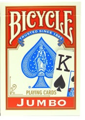 Bicycle 808 Rider Back Jumbo Index Red Playing Cards