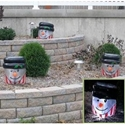 Inflatable Snowman Light Covers xmas winter holiday