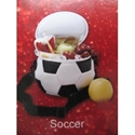 Soccer Ball Shaped Cooler