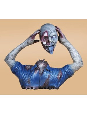 Monster with Head Cut Off Headless Halloween Prop Monster with Head Cut Off Headless Halloween Prop
