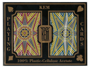 KEM Stargazer Red Blue Bridge Playing Cards 100% Plastic Jumbo Index KEM Stargazer Red Blue Bridge Playing Cards 100% Plastic Jumbo Index