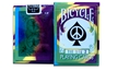 2nd Edition Bicycle Tie Dye 2 Playing Cards Magic -