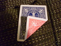 Bicycle Double Back 2-Sided Red Blue Gaff Magic Trick Playing Cards Bicycle Double Back 2-Sided Red Blue Gaff Magic Playing Cards deck  Magic Magical Magician Illusion