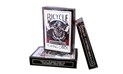 Bicycle® BLACK TIGER Playing Cards Deck by Ellusionist (RED PIPS) black tiger cards, magic cards