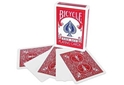 Bicycle Blank Face Red Back Deck Magic Cards