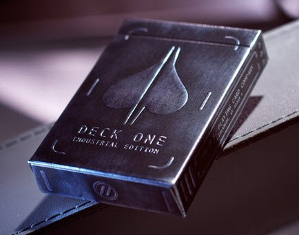 Deck One version 2 - Industrial Edition Playing Cards by Theory11 theory 11 deck one for sale, theory11