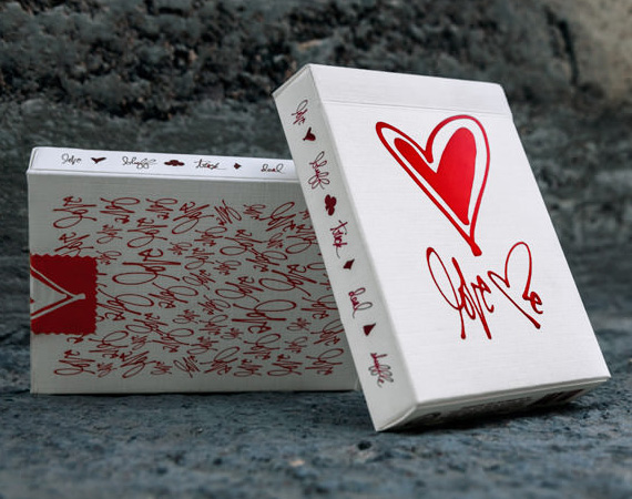Love Me Playing Cards by Theory 11 Love Me, Theory 11, Playing Cards, theory11, deck