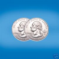 Two Headed Quarter Coin Trick Two Headed Quarter Coin Trick Magic Trick Illusion Magical magician