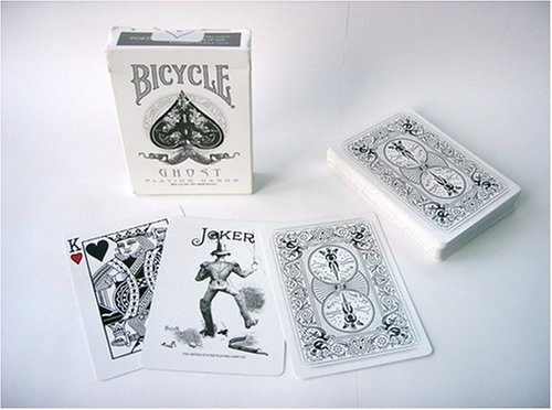 Bicycle Ghost Playing Cards Deck by Ellusionist ellusionist playing cards