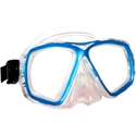 US Divers Acapulco Mask Blue Snorkeling