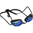 Express Mirror Adult Swim Shatter Proof Goggle With UV Protection, Blue,