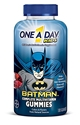 One a Day Kids Childrens Batman Multivitamin Complete, 180 Gummies (Pack of 2)