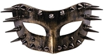 Spiked Masquerade Mask (Bronze)