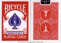 6 Decks Red Bicycle Mandolin Back