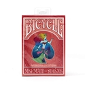 Bicycle Mermaid Theme Light Red Playing Cards