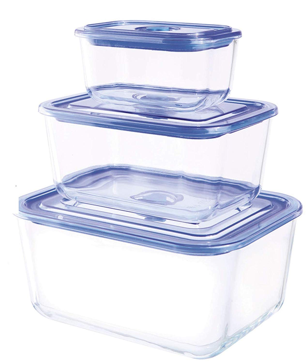 Genial 10 Piece Premier Rectangular Food Storage Containers With ...