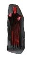"Fun World Costumes 72"" Light-Up Hanging Smoldering Burning Devil Face Halloween Prop Decoration"