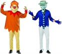 Rasta Imposta Lot 2 Mr Snow & Heat miser Costume Blue and Orange