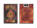 Bicycle Fire Element Poker Size Standard Index Playing Cards 2 PACK