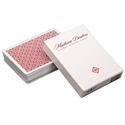 Red Madison Dealers Playing Cards