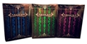 Lot 3 Artifice Playing Cards Emerald, Blue, Purple Decks By Ellusionist