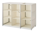 Whitmor 9 Section Collapsible Closet Shelves