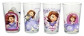 Disney Sofia the First Juice Glass, 8-Ounce, Multicolor, Set of 4