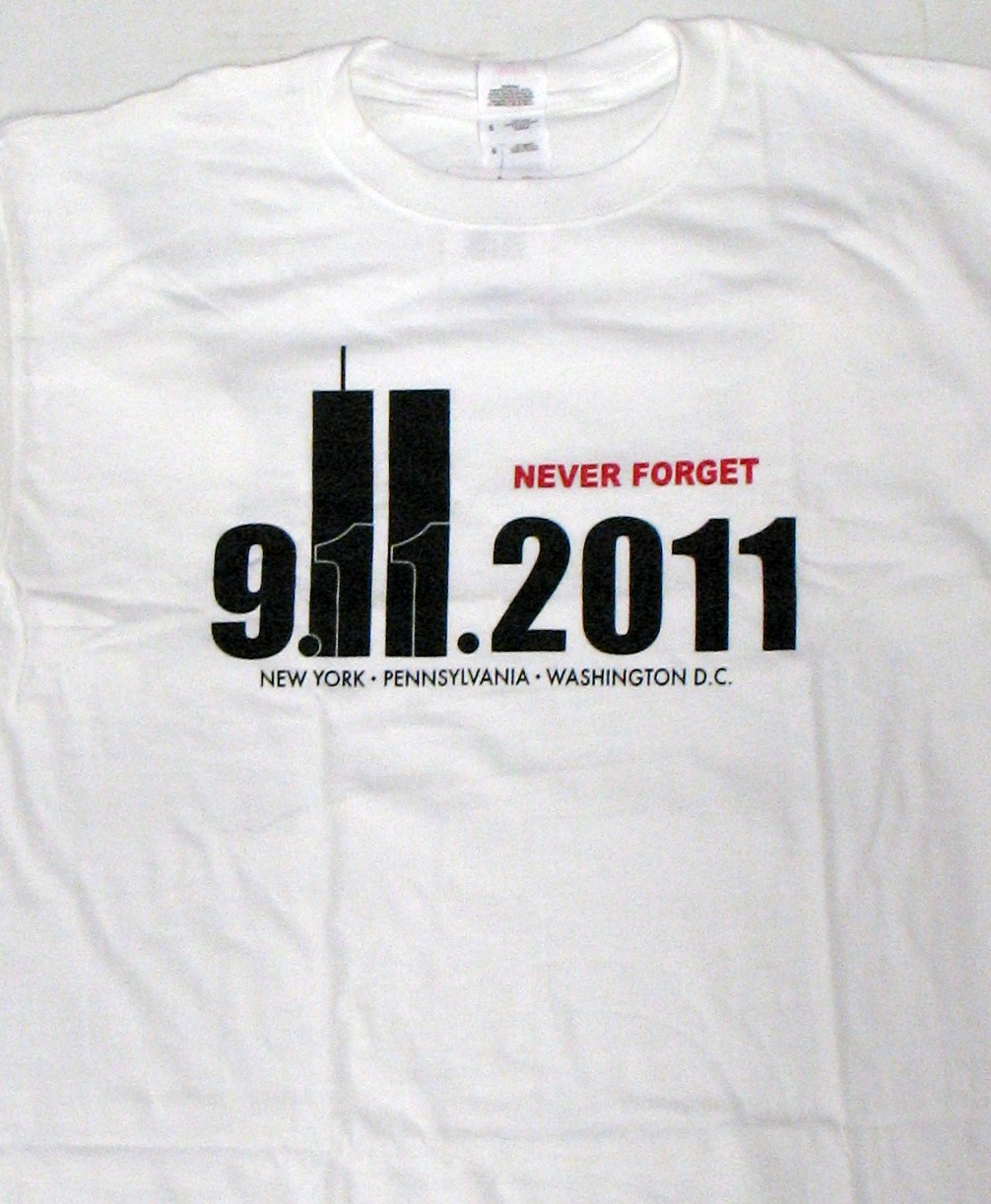 Never Forget 911 10th Anniversary T-shirt