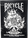 Bicycle Karnival Midnight Black Deck Playing Cards