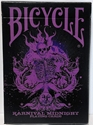 Bicycle Karnival Midnight Purple Deck Playing Cards