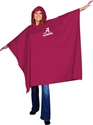 Alabama NCAA Game Day Rain Gear Stadium Poncho, One Size College Tailgating Fan Football