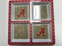 Alabama NCAA 4-Section Melamine Server, Artwork by Kate McRostie