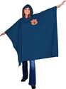 Auburn NCAA Game Day Rain Gear Stadium Poncho, One Size College Tailgating Fan Football