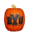 Cumberland Designs Brigham Young University  BYU Resin Pumpkin Decor, Large 8 x 8 x 12 in