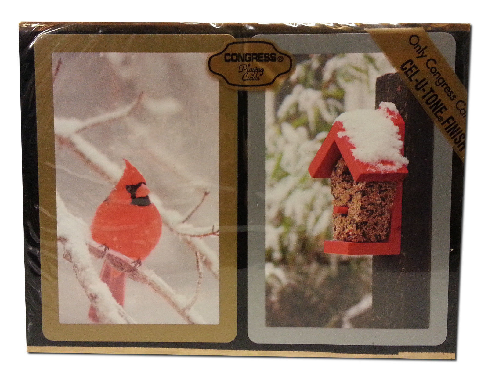 Congress Cardinal Playing Cards Jumbo Index