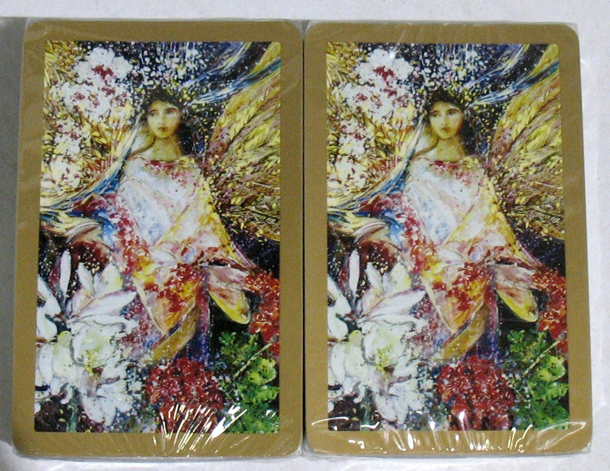 Garden Angel Congress Playing Cards Jumbo Index
