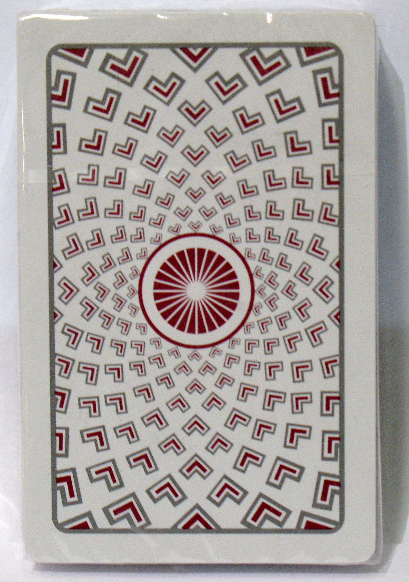 Kem Red Pantheon Playing Cards Bridge Size Regular Index