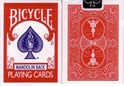 Lot 72 Decks Red Bicycle Mandolin Back