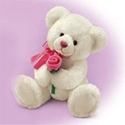 Rosalee White Teddy Bear