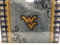 West Virginia NCAA Glass Cutting Board by Cumberland Designs, Artwork by Kate McRostie