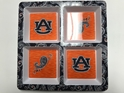 Auburn NCAA 4-Section Melamine Server, Artwork by Kate McRostie
