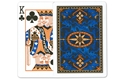 12 Decks of Bicycle Poker Size Blue Dragon Back Playing Cards