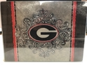 Georgia Bulldogs NCAA Glass Cutting Board by Cumberland Designs, Artwork by Kate McRostie