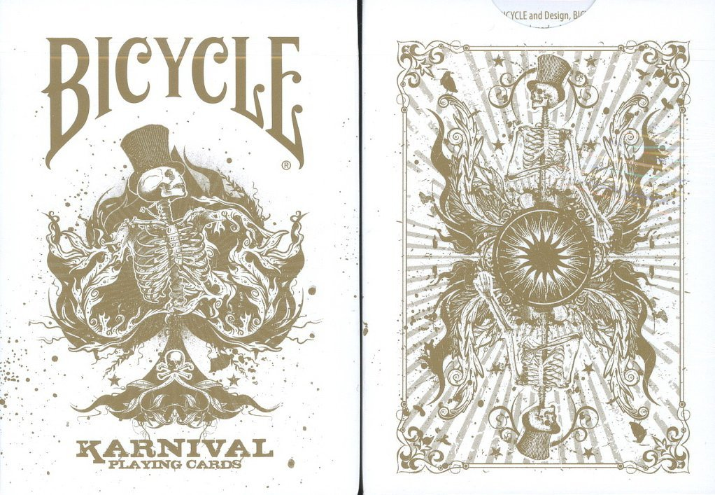 Bicycle Karnival Gold Deck Playing Cards by Big Blind Media