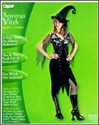 Disguise Nouveau Witch Adult Halloween Costume size 12-14