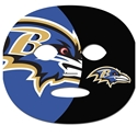 NFL Game Day Face Temporary Tattoo Baltimore Ravens