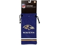 New Baltimore Ravens Microfiber Drawstring Eyeglass Bag, NFL, Football